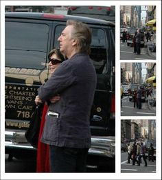 May 3, 2006 - Alan Rickman out and about in New York City.