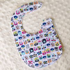 Toy Camera Instagram #Baby Bib by thegreytabbymama on #Etsy