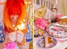 Tiffany Pratt's Spring Wonderland Tabletop Tiffany Pratt, Cute Hairstyles, Confetti, Tabletop, Rebel, Phoenix, Whiskey, Celebrations, Wonderland