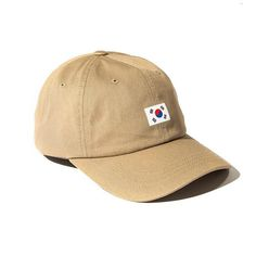Men's / Women's Unisex Anti Social Social Club Country Korea Strap Back Baseball Adjustable Hat - Sand