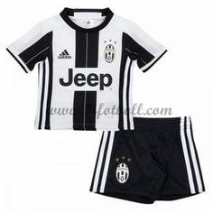 d808a94a Billiga Fotbollströjor Kits Juventus Barn 2016-17 Kortärmad Hemma  Fotbollsdräkter
