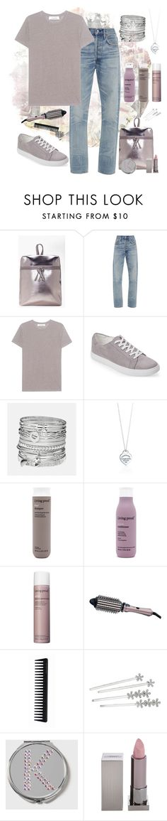 """Mauve"" by puppylove7 ❤ liked on Polyvore featuring Boohoo, Citizens of Humanity, IRO, Kenneth Cole Reaction, Avenue, Tiffany & Co., Living Proof, Remington, GHD and Lauren Ralph Lauren"