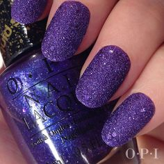 SandThanks to OPI's sand polish, you no longer have to have good motor skills to have a super-cool DIY manicure. The matte polish dries in a crystalized texture to cover up any even painting.OPI, Liquid Sand Nail Lacquer, $8, available at drugstore.com