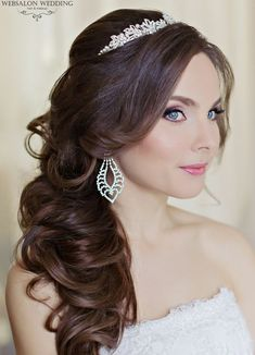 These wedding hairstyles are done with the perfect amount of glamour and sophistication. The elegant updos flatter any wedding dress and the bold curls add a gorgeous touch to a simpler look. The added embellishments and flower details also give these hairstyles a unique look. Scroll down and check these wedding hairstyles out to find […]