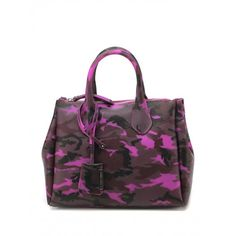 Gianni Chiarini GUM bag, Lipgloss colour, camouflage theme, top closure zip,  Made in Italy