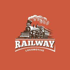 Locomotive #train #locomotive #logo #logodesign #illustration #design
