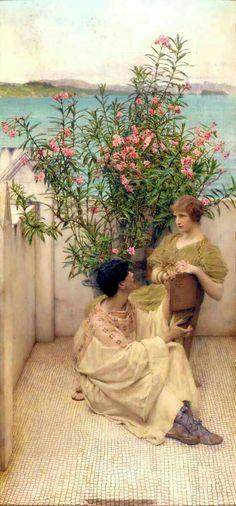 Courtship by Lawrence Alma Tadema