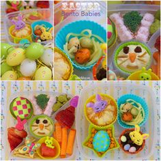 Easter Bento Babies — Capture by Lucy