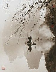 Don Hong-Oai: Spring Morning on River Li, Guilin, 1998