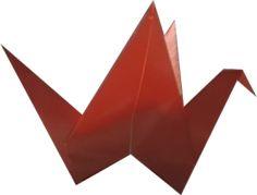 origami - latający ptak