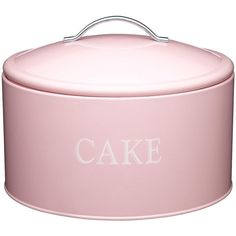 Kitchen Craft Sweetly Does It Jumbo Cake Tin (£20) ❤ liked on Polyvore featuring home, kitchen & dining, food storage containers, cake tin and kitchen craft