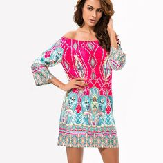 Gender: Women Decoration: None Clothing Length: Long Sleeve Style: Regular Pattern Type: Print Style: Casual Fabric Type: Broadcloth Material: Silk,Polyester Collar: Slash neck Sleeve Length: Half
