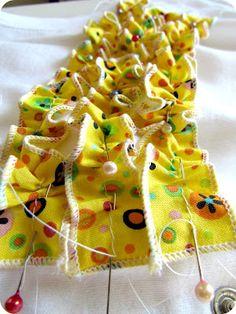 how to sew ruffles!