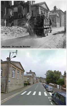Mortain  Rue du Rocher  Normandia #NORMANDIA1944