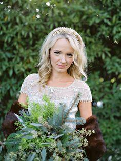 Woodsy #winter #Wedding Ideas