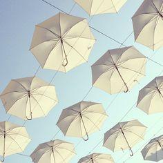 #umbrellas in the sky