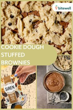 Delicious Desserts, Dessert Recipes, Yummy Food, Drink Recipes, Edible Cookie Dough, Protein Bites, Some Recipe, Cookies And Cream, Yummy Eats