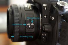 Using Manual Focus for Sharper Images