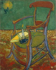 Vincent Van Gogh,   Chair,
