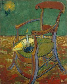 Vincent Van Gogh,   Chair,