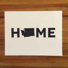 Washington State HOME Print