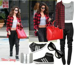 """Selena Gomez Style"" by georgiaswag on Polyvore"