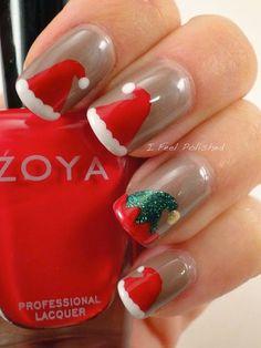 Prepara tus uñas para esta navidad!!!
