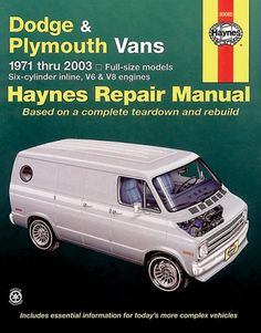 Dodge neon dodge pinterest neon cars and vehicle click image above to purchase dodge plymouth full size vans haynes repair manual fandeluxe Images