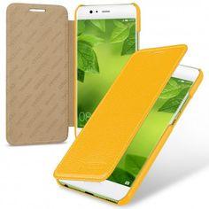 TETDED Premium Leather Case for Huawei P10 VTR-AL00 VTR-TL00 VTR-L09 VTR-L29 Dual SIM -- Dijon II (LC: Yellow)