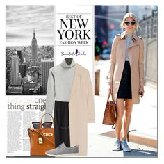 """New York Fashion Week Street Style"" by never-alone ❤ liked on Polyvore featuring Christian Dior, Polo Ralph Lauren, Oscar de la Renta, Jason Wu, TOMS, StreetStyle, casual, polyvorefashion and bhalo"