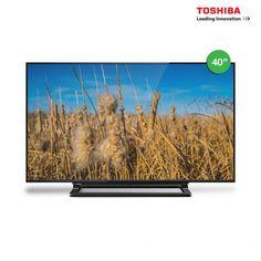 "Toshiba 40"" Digital TV with USB Movie and PVR 40L2550VM"