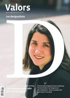 """Revista #Valors 135. """"Les #desigualtats són una ferida social"""". Entrevista a Alicia García Ruiz, filòsofa i politòloga."""