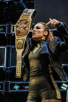 """"""" From the first all the way to the Man. Wrestling Divas, Women's Wrestling, Becky Lynch, Becky Wwe, Wwe Seth Rollins, Rebecca Quin, Wwe Female Wrestlers, Gym Clothes Women, Raw Women's Champion"""