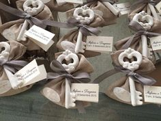Sognicreativi Wedding and Events: Segnaposto e confettata con gessetti profumati