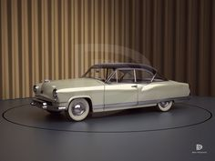 A Garagem Digital de Dan Palatnik | The Digital Garage Project: 1951 Kaiser Hardtop Concept by Gordon Tercey