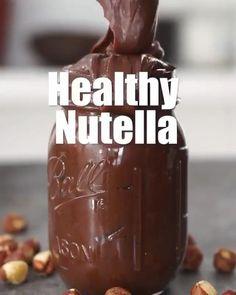 Vegan Snacks, Healthy Desserts, Healthy Recipes, Vegan Treats, Vegan Recipes Videos, Delicious Vegan Recipes, Healthy Breakfast Smoothies, Nutella Recipes, Vegan Soup