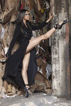 Misty Copeland, first black ballerina soloist for the American Ballet Theatre! Fierce.