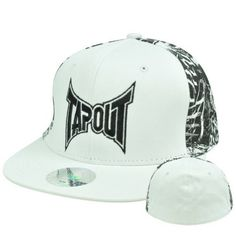"Tapout Cage Fighting UFC Flat Bill Stretch Flex Fit Size Small Medium Hat Cap by Tap Out. $19.99. Flex Fit. 97% Cotton 3% Spandex. FlexFit Small - Medium. Official Licensed Product. Brand New Item with Tags. Authentic Tapout Flat Bill Flex Fit Hat. ""TAPOUT"" embroidered on front panel. Right side panel and left side panel both have embroidered tap out designed. Plain back panel. Flex Fit hat, fits sizes Small to Medium. White flat bill visor. Officially Licensed Tapout product."