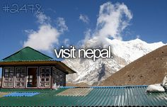 Visit Nepal / Bucket List Ideas / Before I Die The Places Youll Go, Places To See, Le Tibet, Everest Base Camp Trek, Life List, Travel Images, Adventure Is Out There, Dream Vacations, Bon Voyage