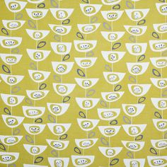 BuyJohn Lewis Seedheads Furnishing Fabric, Citrine Online at johnlewis.com
