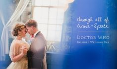 Dr Who themed wedding. If only David appreciated my Dr Who love...  Lol.