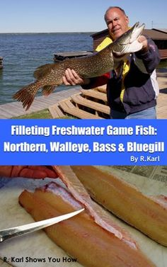 How to Fillet Northern Pike - Removing the Y-Bones