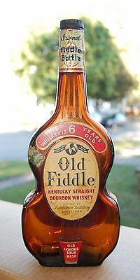 Old Fiddle Kentucky Whiskey - Bardstown, Kentucky - 4/5 Quart & Labels