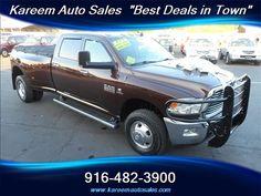 #HellaBargain 2013 Dodge Ram 3500 Big Horn 4WD Crew Cab Duely Automatic Sacramento: $40,980.00  www.hellabargain.com