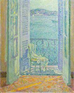 Henri Le Sidaner (1862-1939) Le Soleil dans la maison, Villefranch-sur-Mer, 1926 81 x 100 cm, Paris, Musée d'Orsay