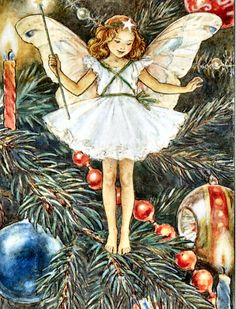 The Christmas Tree Fairy by Mary Cicely Barker