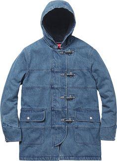 Supreme Hooded Firemans Coat