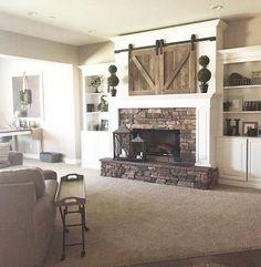 Farmhouse style fireplace ideas (54)