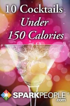 10 Cocktails with 150 Calories or Less