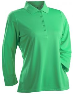 d6d2bc7ac19 Nancy Lopez Women s Plus Size 3 4 Sleeve Golf Shirts (Luster) - Amber